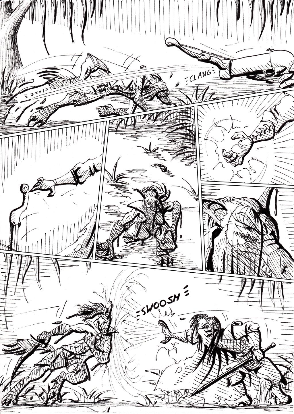 Wordless action comics! Yay!