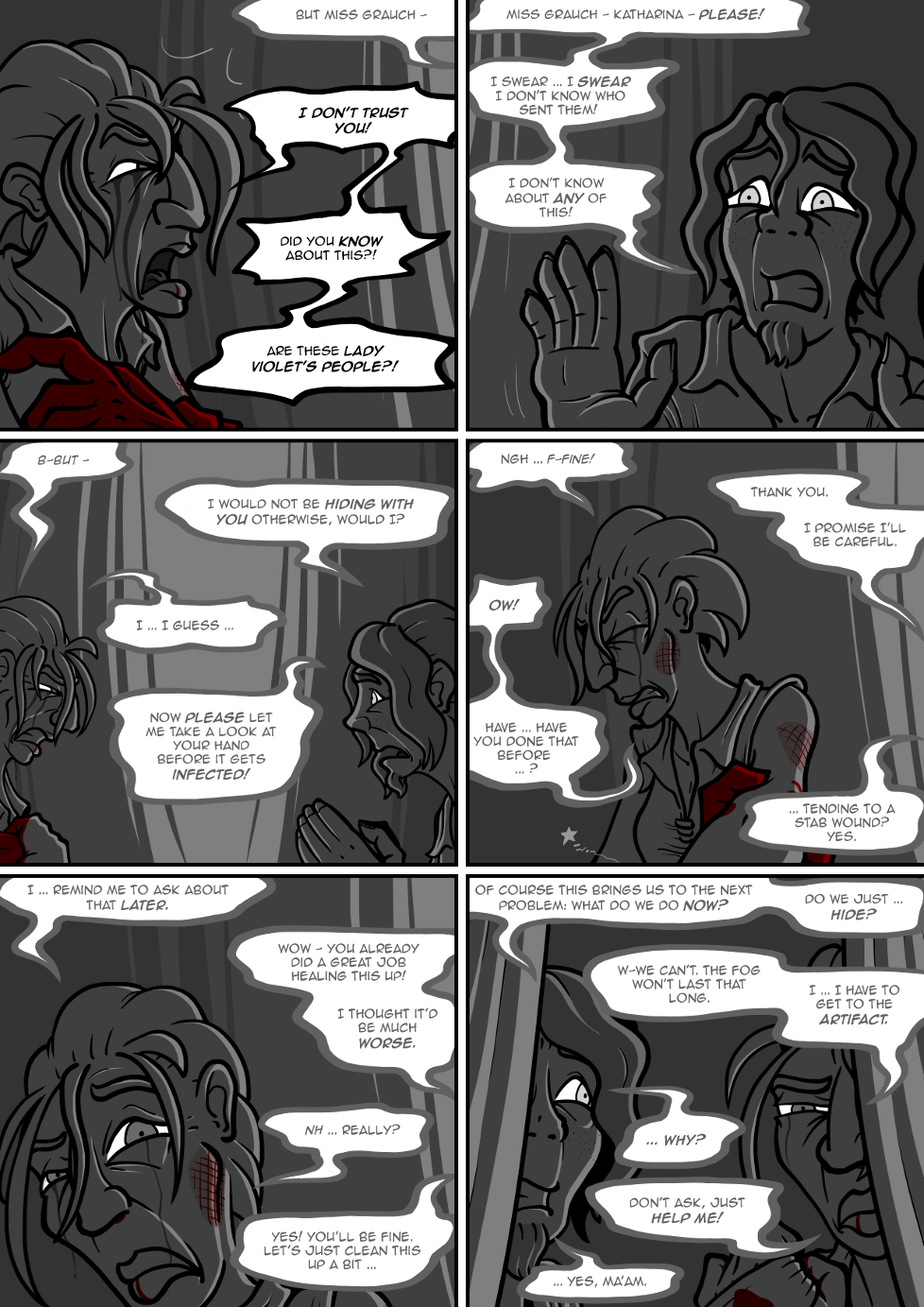 I swear I'm not trying to make each new page a bit darker, it just happens!